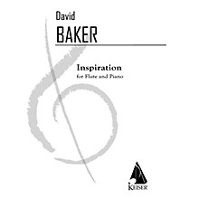Lauren Keiser Music Publishing Inspiration (Flute with Piano Accompaniment) LKM Music Series Composed by David Baker