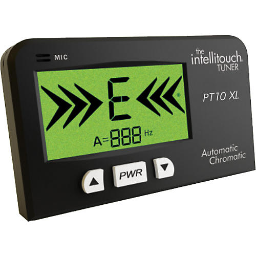 Intellitouch Intellitouch PT10XL Traditional Chromatic Tuner Black