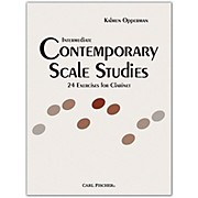 Carl Fischer Intermediate Contemporary Scale Studies - Clarinet