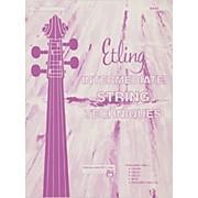Alfred Intermediate String Techniques Bass