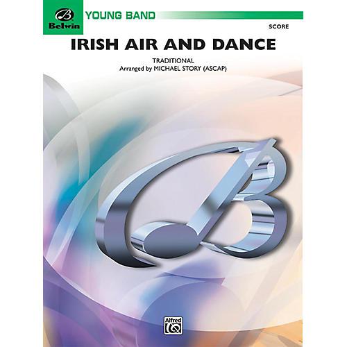 Alfred Irish Air and Dance Concert Band Grade 2 Set-thumbnail