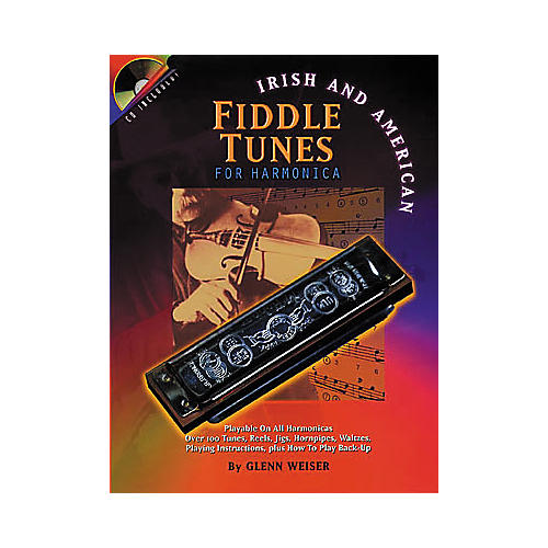 Centerstream Publishing Irish and American Fiddle Tunes for Harmonica