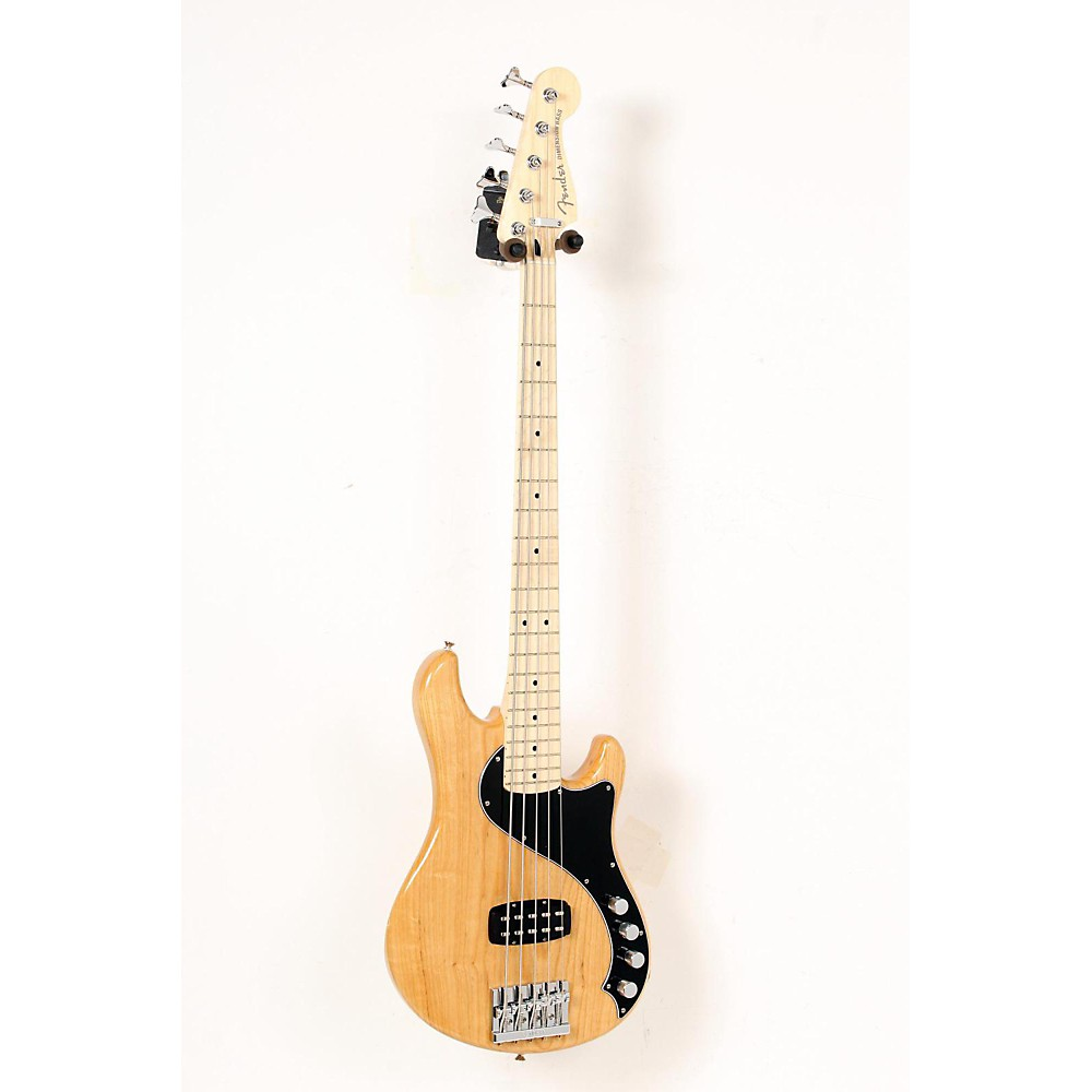 FENDER Deluxe Dimension Electric Bass V 5-String Natural, Maple Fingerboard 888365282787