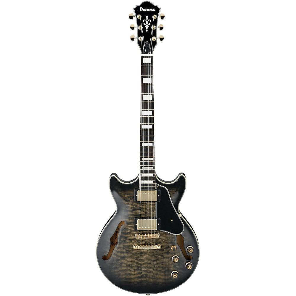 ibanez am93 artcore expressionist semi hollowbody electric guitar black sunburst ebay. Black Bedroom Furniture Sets. Home Design Ideas