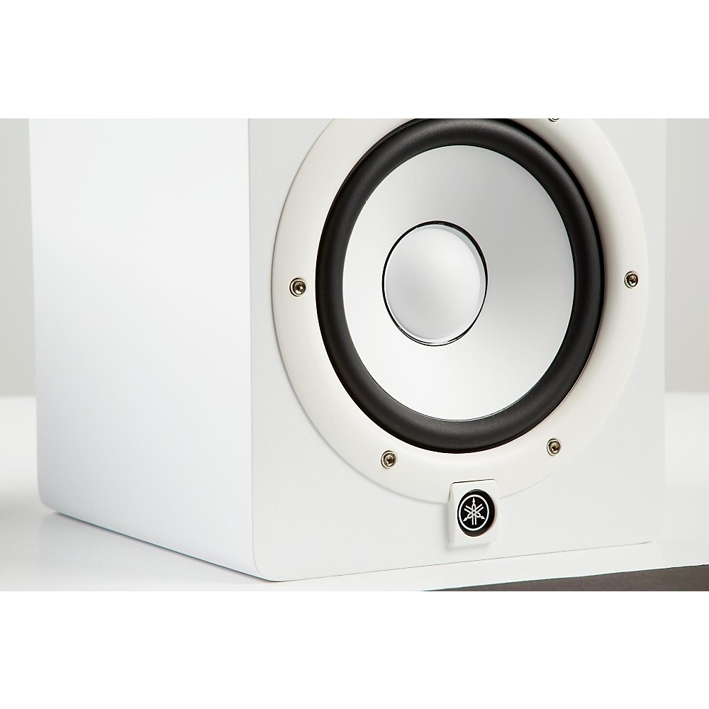 yamaha hs7 w powered studio monitor white ebay. Black Bedroom Furniture Sets. Home Design Ideas