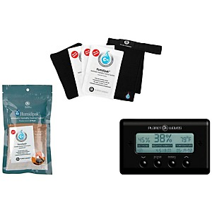 D'Addario Planet Waves Humidifier Kit Black