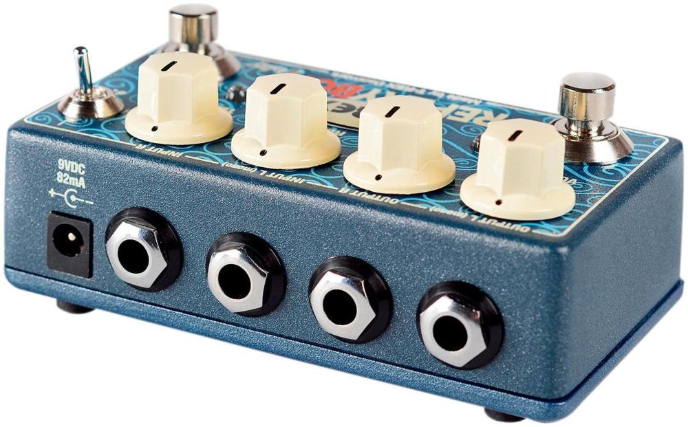 stereo delay guitar effects pedal ebay. Black Bedroom Furniture Sets. Home Design Ideas