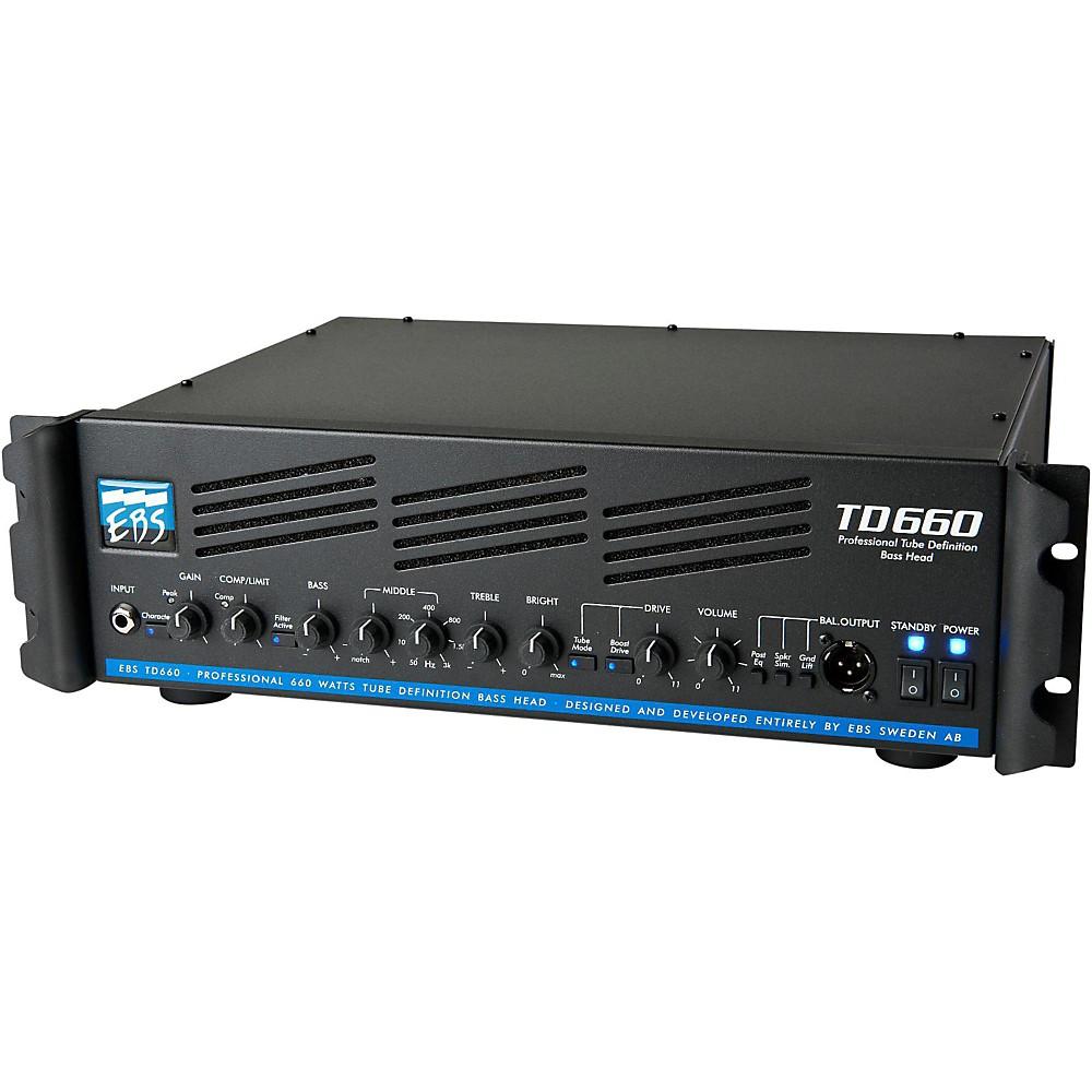 ebs td660 660w bass guitar amplifier head ebay