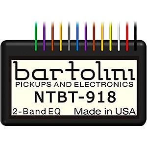 Bartolini 2-band Tone Control Pre-Amp