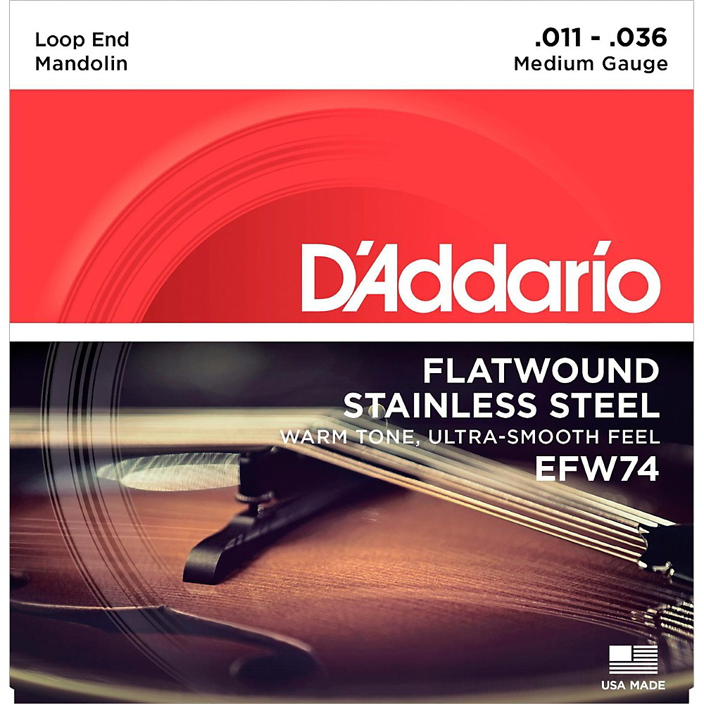 Details about D'Addario EFW74 Phosphor Bronze Medium Mandolin Strings ...
