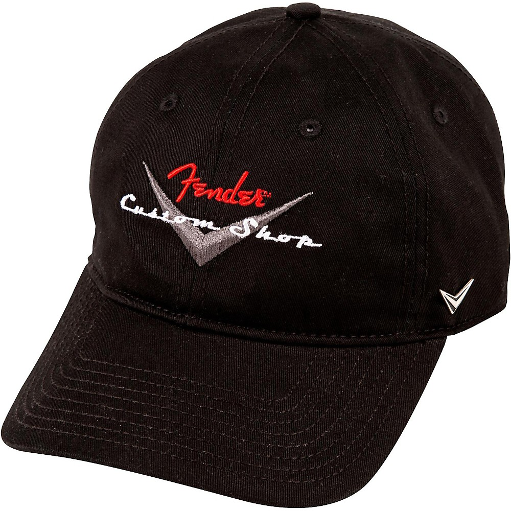 fender custom shop baseball hat one size black ebay