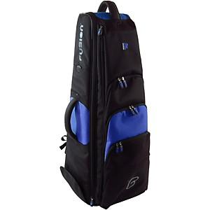 Fusion Premium Bass Trombone Bag Black and Blue