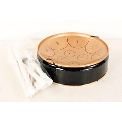 Fancy Pans Key Of C Mini Pan - 12 Notes Black/Gold 190839046512