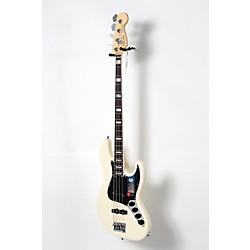 Fender American Elite Rosewood Fingerboard Jazz Bass Olympic White 190839071217 -  USED005010 0197000705