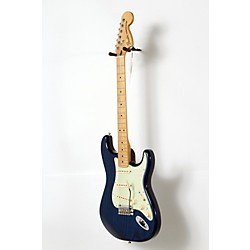 Fender Deluxe Stratocaster Maple Fingerboard Transparent Sapphire Blue 190839059 -  USED005013 0147102327