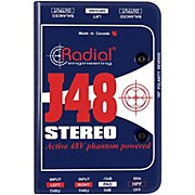 Radial Engineering J48 Stereo Active Direct Box