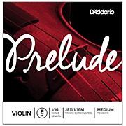 D'Addario J811 Prelude 1/16 Violin Single E String Plain Steel