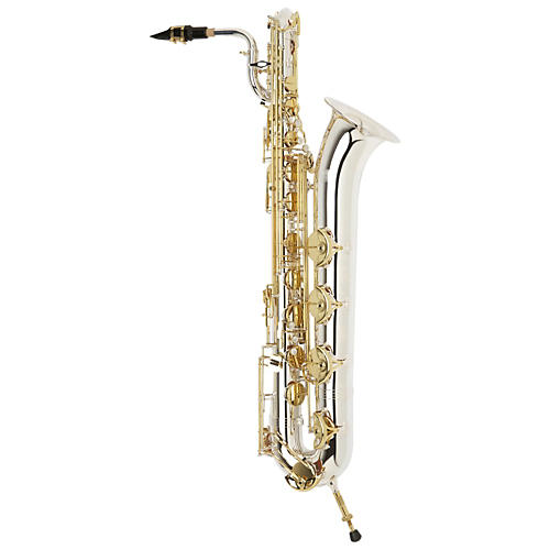 Jupiter JBS1100SG Intermediate Baritone Saxophone Silver Plated Neck and Body