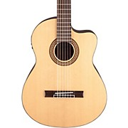 Jasmine JC-25CE Cutaway Classical Acoustic-Electric Guitar