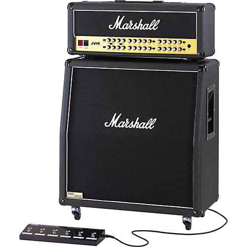 Marshall JVM410H and 1960AV Half Stack Angled-thumbnail