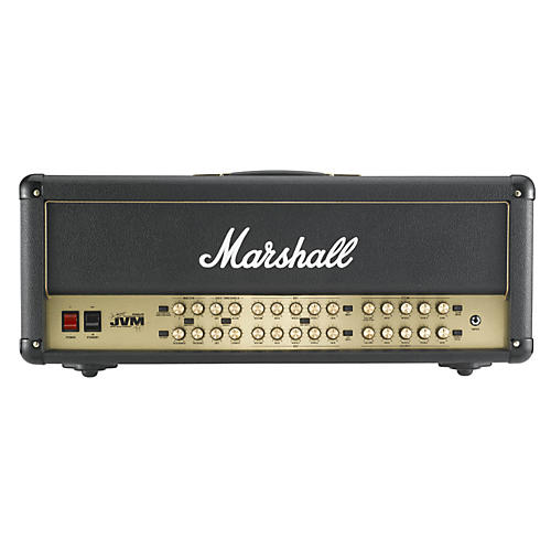 Marshall JVM410HJS Joe Satriani Tube Guitar Amp Head Black