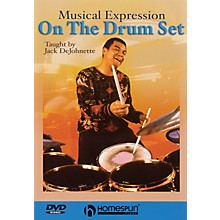 Homespun Jack DeJohnette Teaches Musical Expression on the Drum Set Instructional/Drum/DVD DVD by Jack DeJohnette