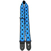 Road Runner Jacquard Latin/Checker Guitar Strap
