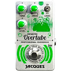Jacques Overtube Vintage Pro Overdrive Effects Pedal (OVERTUBE)