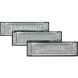 Jambone Harmonica 3-Pack (KIT774425)