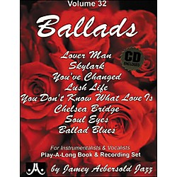 Jamey Aebersold (Vol. 32) Ballads (V32DS)