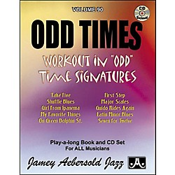 Jamey Aebersold (Vol. 90) Odd Times (V90DS)