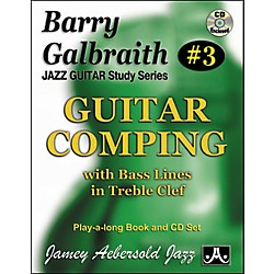 Jamey Aebersold Barry Galbraith Guitar Comping Book/CD (BG3)