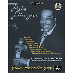Jamey Aebersold Duke Ellington Play-Along Book and CD (V12DS)