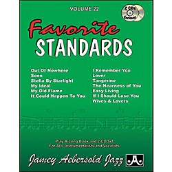 Jamey Aebersold Favorite Standards (V22DS)
