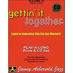 Jamey Aebersold Gettin' It Together Volume 21 Book and CD (V21DS)