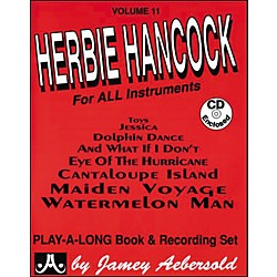 Jamey Aebersold Herbie Hancock Play-Along Book and CD (V11DS)