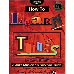 Jamey Aebersold How To Learn Tunes Play-Along Book and CD (V76DS)
