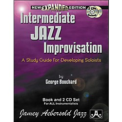 Jamey Aebersold Intermediate Jazz Improvisation Book and CDs (IJI)