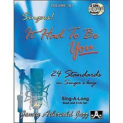 Jamey Aebersold It Had To Be You - Standards for all Singers (V107DS)