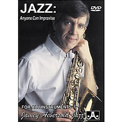 Jamey Aebersold Jazz: Anyone Can Improvise DVD (JAD)