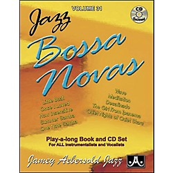 Jamey Aebersold Jazz Bossa Nova Play-Along Book with CD (V31DS)