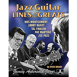 Jamey Aebersold Jazz Guitar Lines of The Greats (JGL)