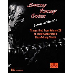 Jamey Aebersold Jimmy Raney Solos Book (JRS)