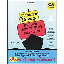 Jamey Aebersold Maiden Voyage Book/CD (V54DS)