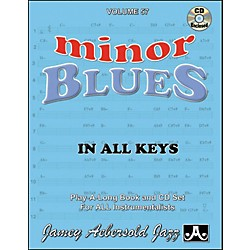 Jamey Aebersold Minor Blues In All Keys Play-Along Book and CD (V57DS)