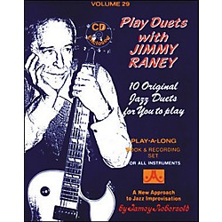 Jamey Aebersold Play Duets with Jimmy Raney Play-Along Book and CD (V29DS)