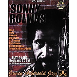 Jamey Aebersold Sonny Rollins Play-Along Book and CD (V08DS)