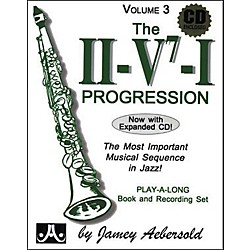 Jamey Aebersold The II/V7/I Progression Book and CD (V03DS)