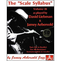 "Jamey Aebersold The""Scale Syllabus"" Booklet and 2-CD Set (V26DS)"