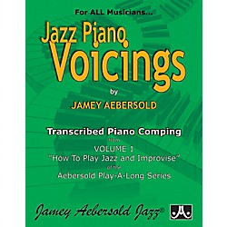 "Jamey Aebersold Transcribed Piano Voicings from Vol. 1 ""How To Play Jazz and Improvise"" (PV)"